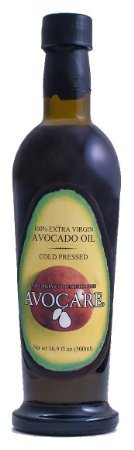 AVOCARE 100% Extra Virgin Cold Pressed Avocado Oil 16.9oz Bottle (Pack of 3)
