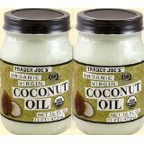 2-pack Trader Joe's Organic Coconut Oil