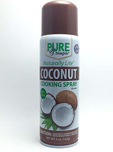 Coconut cooking spray