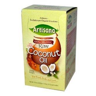 Artisana Raw 100% Organic Coconut Oil - 1.19 oz (Travel Pack)