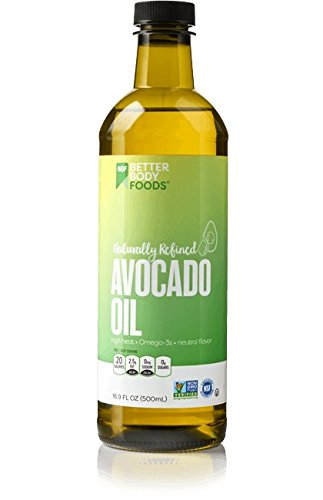 BetterBody Food Naturally Refined Avocado Oil 16.9 oz