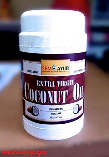 24 bottles 16oz Ayurvedic Pure Organic Extra Virgin Coconut Oil