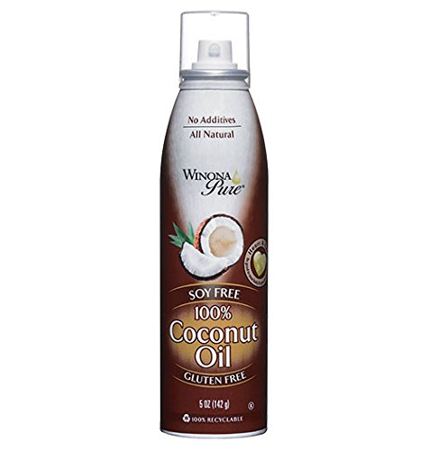 Winona Pure Coconut Oil 5 oz (Pack of 3)