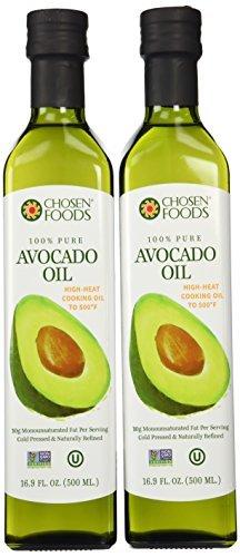 Chosen Foods Avocado Oil 500ml Bottle 12-Pack