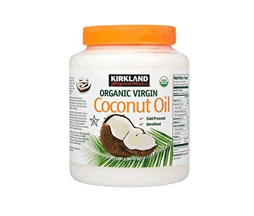 Kirkland Signature Cold Pressed Unrefined Organic Virgin Coconut Oil