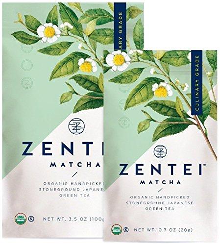 ZENTEI | Matcha Green Tea Powder | Organic Culinary Grade from Japan | Best for Lattes