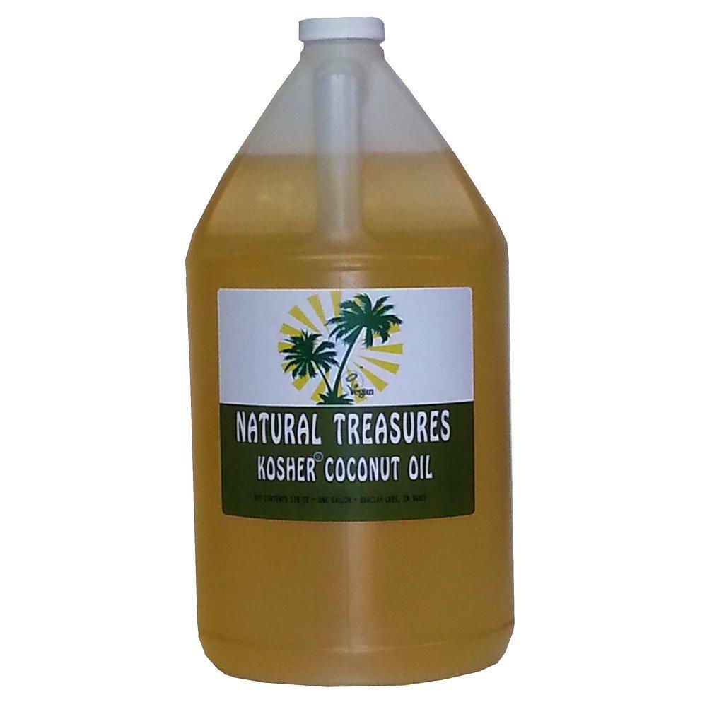 128oz One Gallon Gluten Free Kosher Refined Coconut Oil RBD