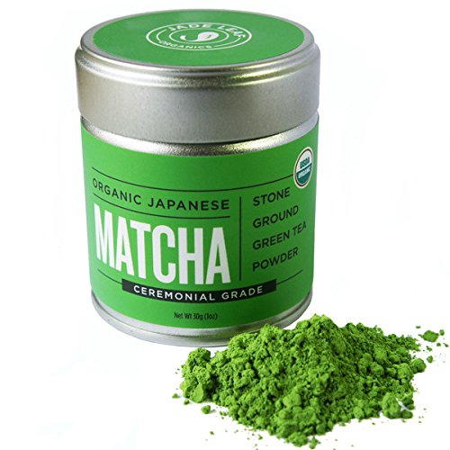 Matcha Green Tea Powder Organic - Japanese Ceremonial Grade (For Sipping as Tea) - Antioxidants