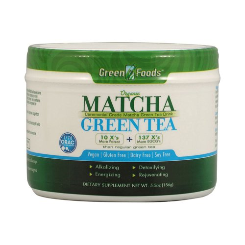 Bulk Saver Pack 2x5.5 OZ : Green Foods Organic Matcha Green Tea