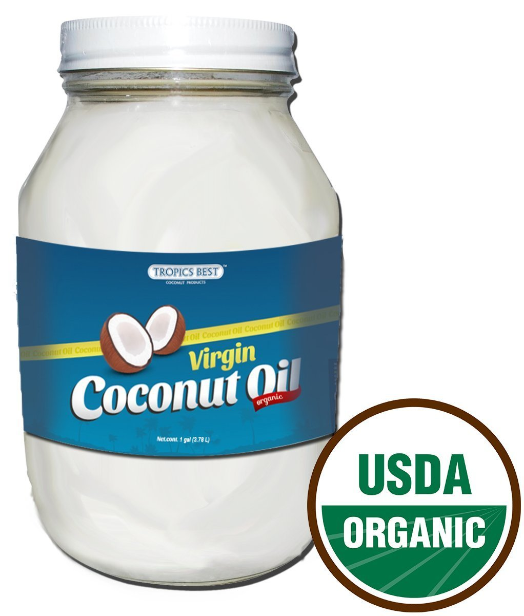 16 Oz Coconut Oil - 100% USDA Certified Organic Virgin
