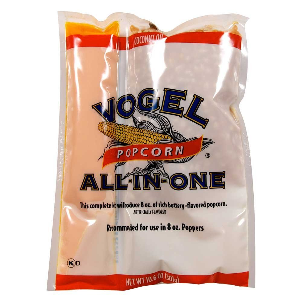 Vogel Popcorn Pouch with Coconut Oil