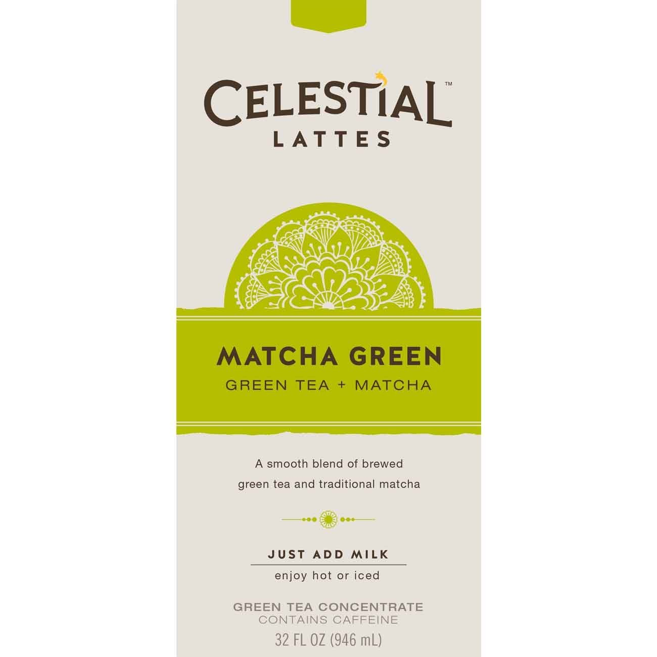 Celestial Seasonings Matcha Green Tea Latte Concentrate
