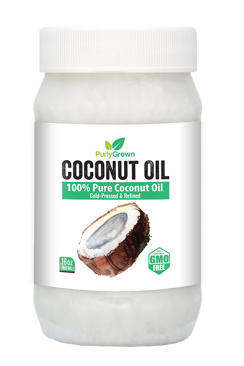 Purly Grown Cold Pressed Virgin Coconut Oil