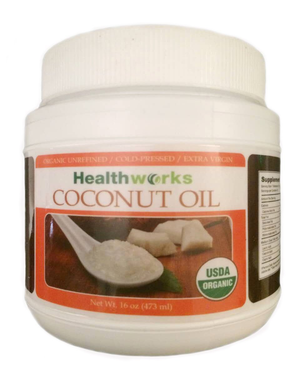 Healthworks Coconut Oil Cold Pressed Organic