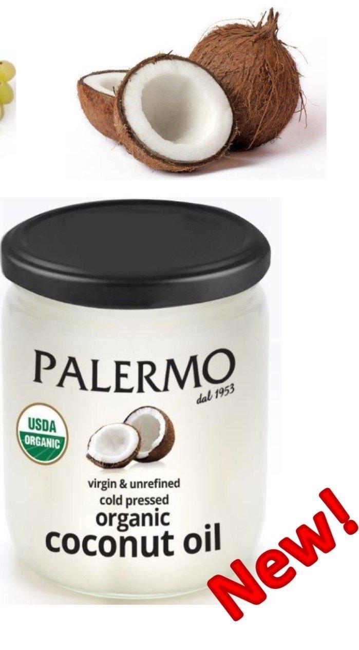 PALERMO Organic Cold Pressed Unrefined Virgin Coconut Oil 14