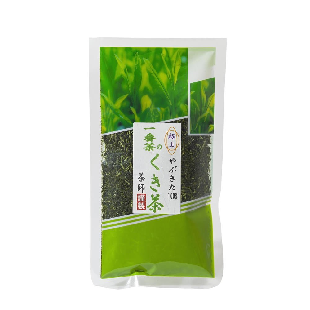 Tokyo Matcha Selection Tea - Yabukita Ichiban Kukicha : 1st. Flush green tea stems 130g (4.58oz) from Kakegawa Shizuoka [Standard ship by SAL: NO tracking number]