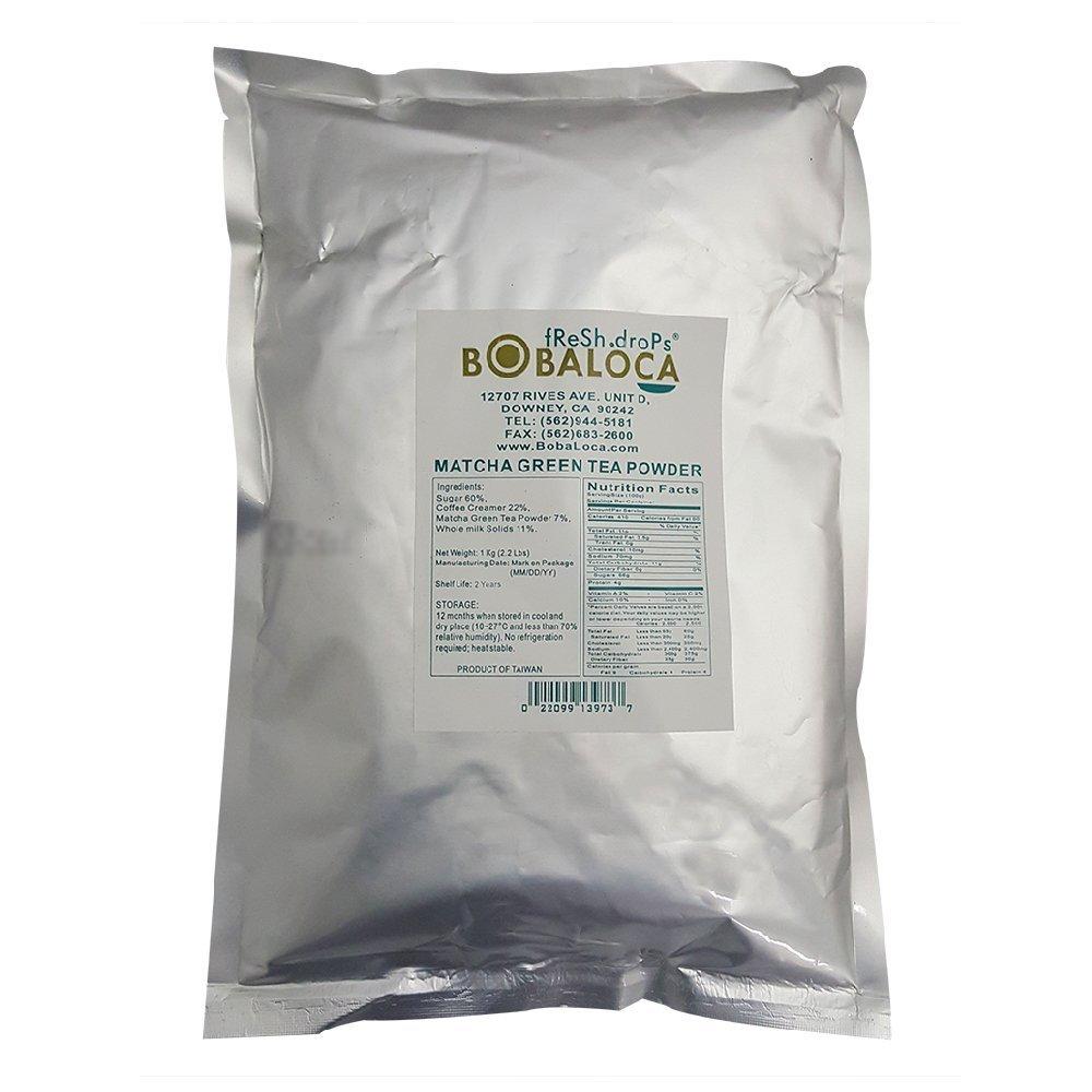 Boba Loca Matcha Green Tea Powder Mix
