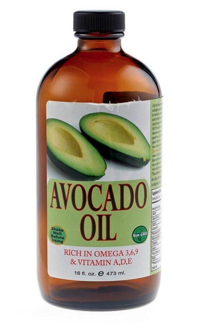 Sweet Sunnah's Bottled 100% Pure Avocado Oil 16oz Plastic Bottle