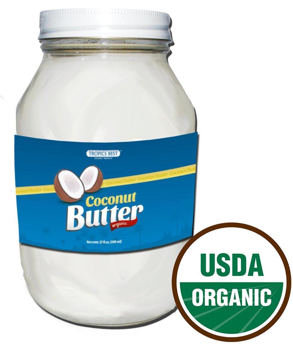 17 Oz Coconut Butter - 100% USDA Certified Organic Virgin