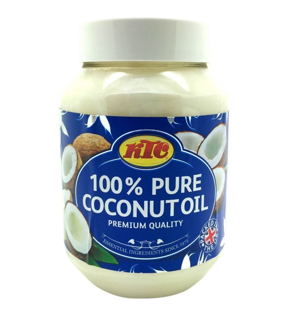 100% PURE KTC Coconut Multipurpose Oil Jar 500ml - Used for Cooking (Edible Oil)