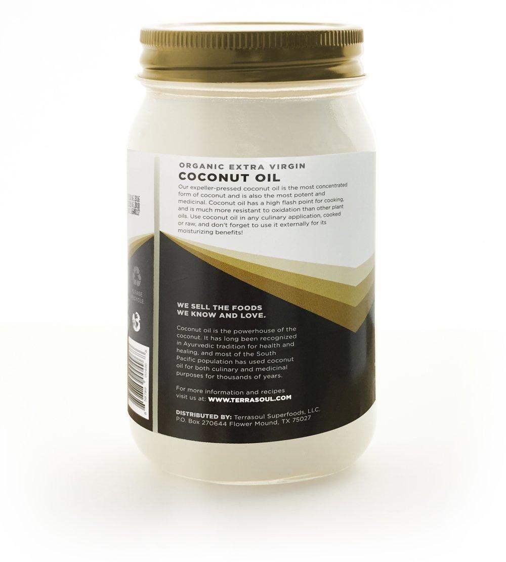 Terrasoul Superfoods Organic Extra Virgin Coconut Oil in