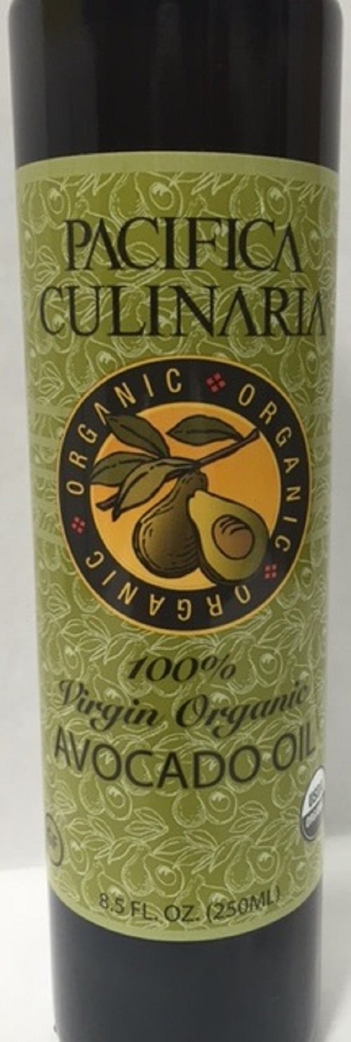100% Virgin Organic Avocado Oil