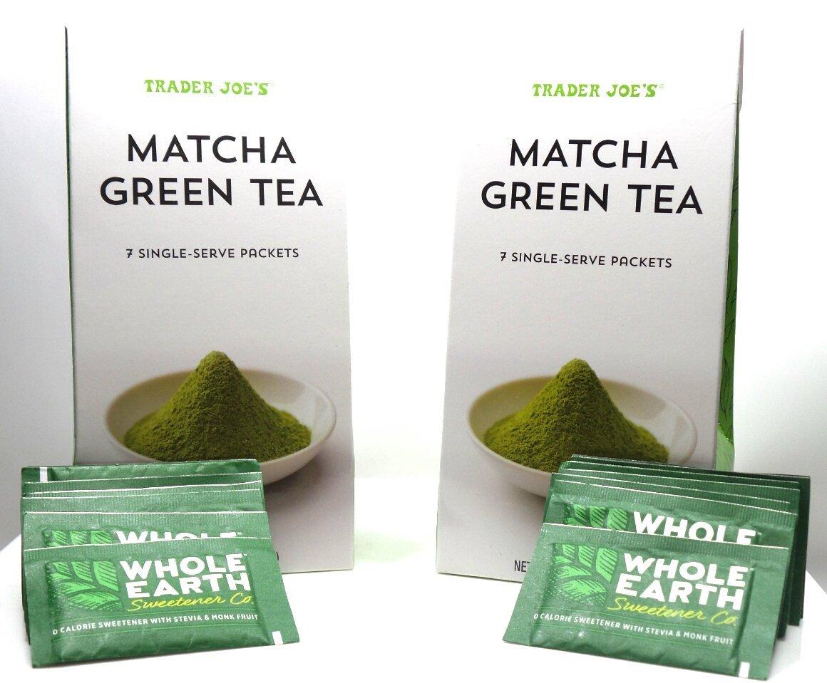 Trader Joe's MATCHA GREEN TEA (2 PACK)