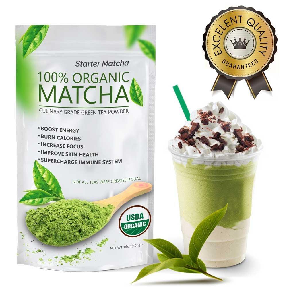 Starter Matcha (16oz) - USDA Organic