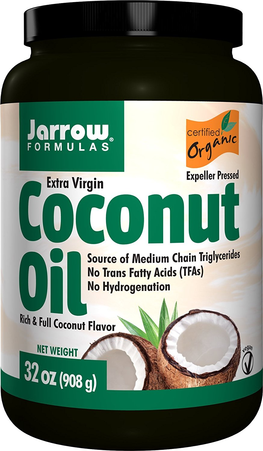 Jarrow Coconut Oil Extra Virgin