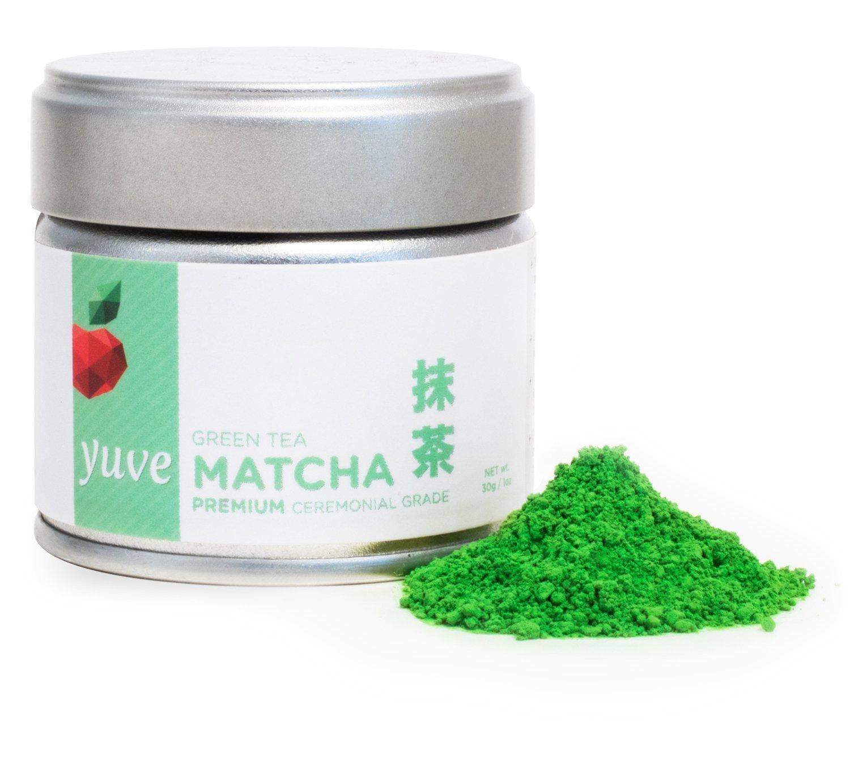Yuve - Ceremonial Matcha Green Tea Powder - Ultra Premium Ceremonial Grade - 30g Tin [1.06oz]