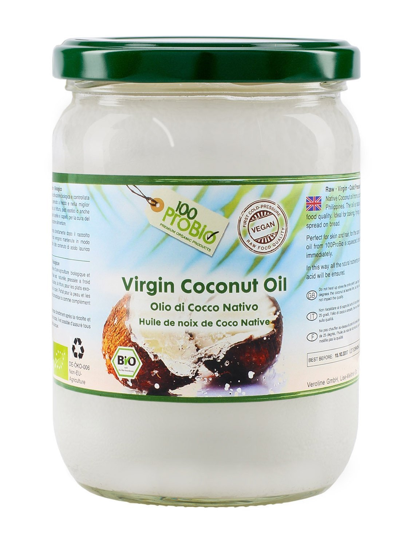 100ProBio organic coconut oil 100% virgin