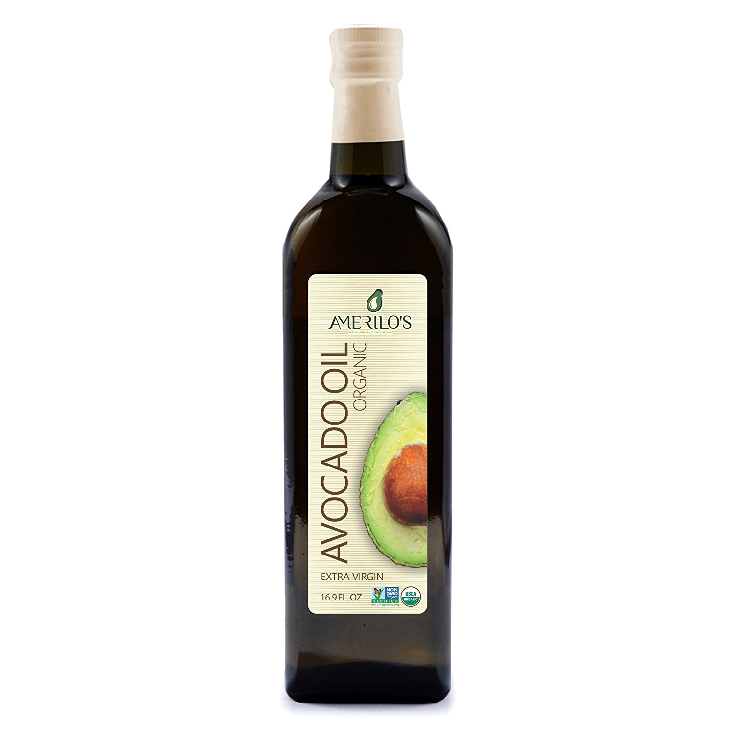 Amerilo's Organic Extra Virgin Avocado Oil (16.9 oz)