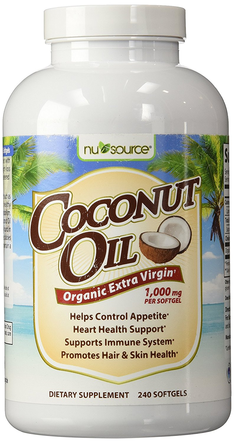 NuSource Coconut Oil Dietary Supplement