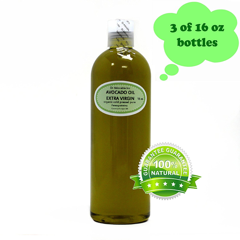 48 OZ PREMIUM AVOCADO OIL EXTRA VIRGIN RAW UNREFINED Organic COLD PRESSED