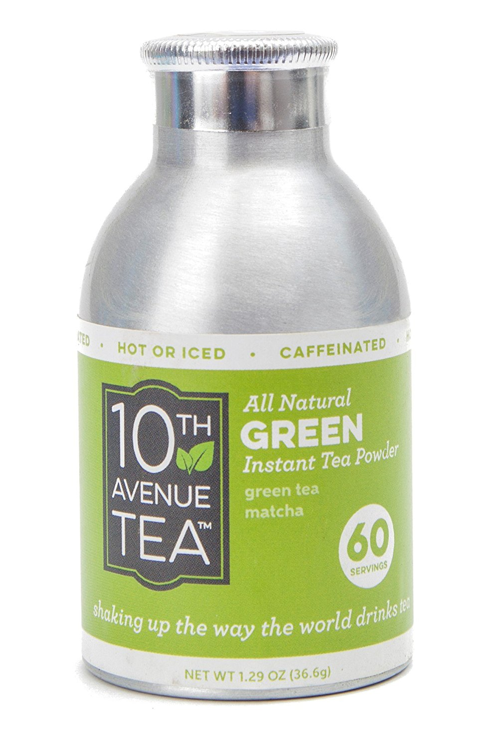 10th Avenue Tea Instant Green Matcha Tea Powder