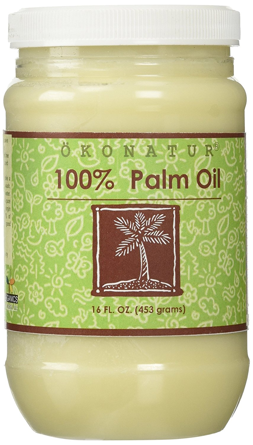 100% Palm Oil - 16 Fl Oz
