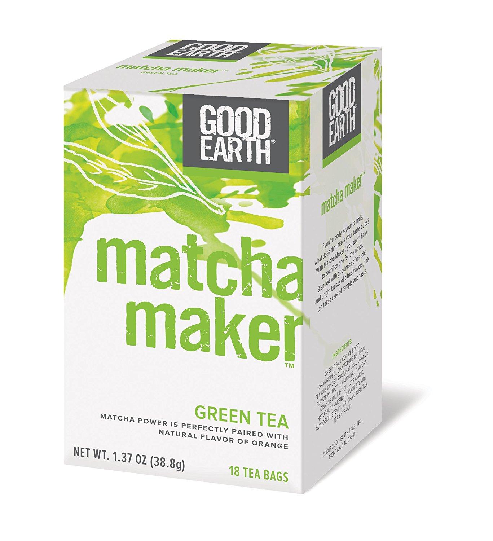 Bulk Saver Pack 3x18 BAG: Good Earth Matcha Maker Tea