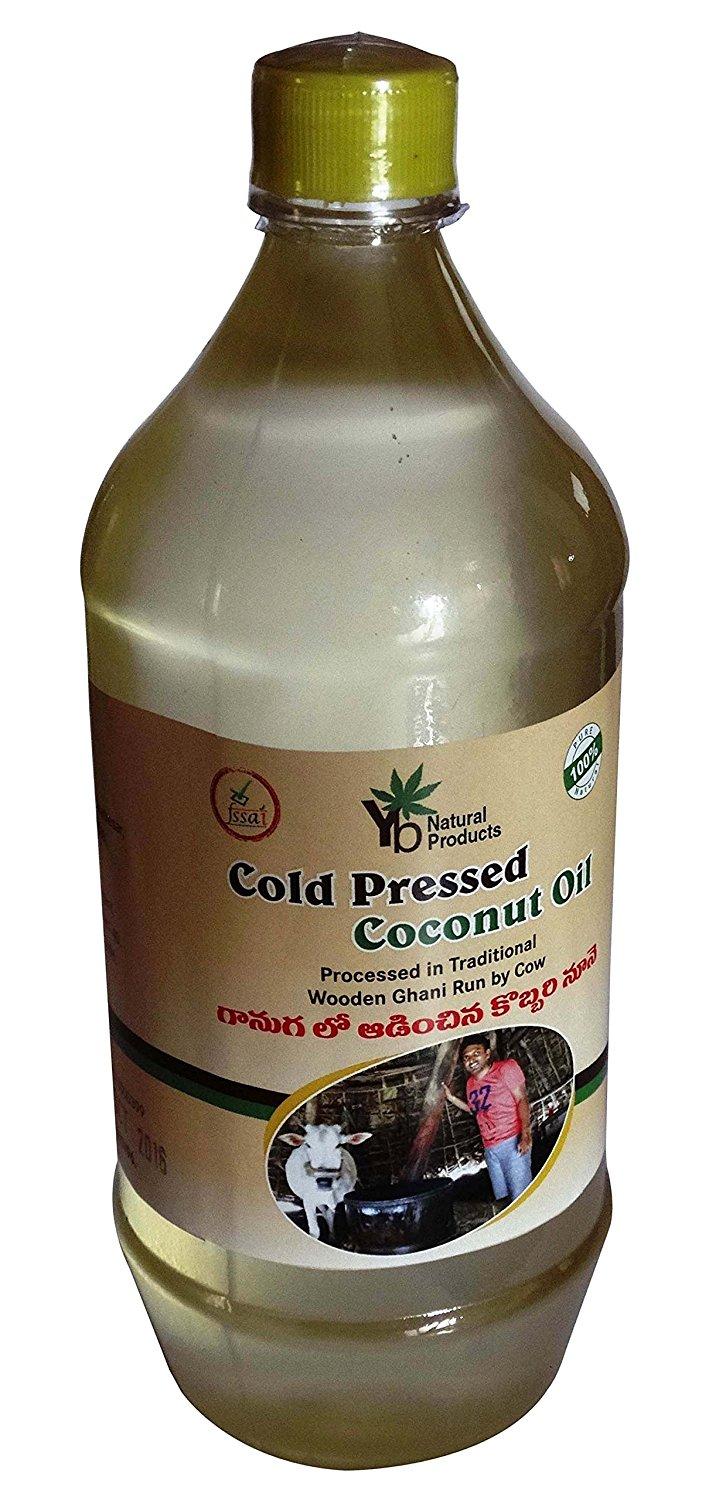 YB Natural Cold Pressed Organic Pure Coconut Oil- FSSAI Certified