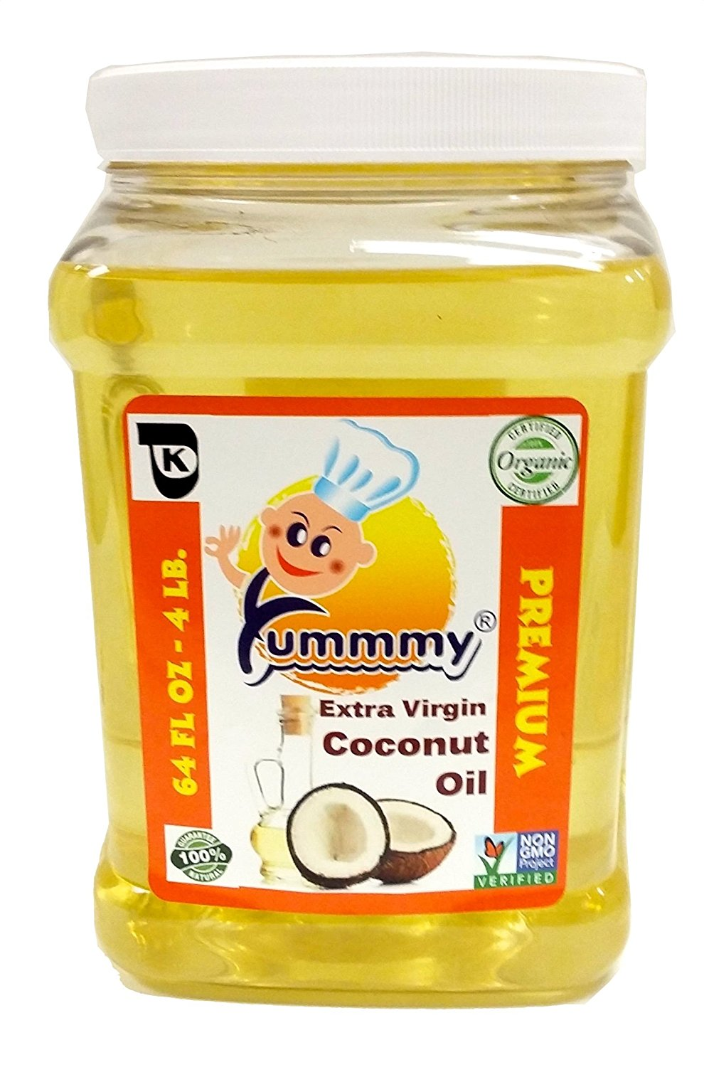 Yummmy Extra Virgin Coconut Oil