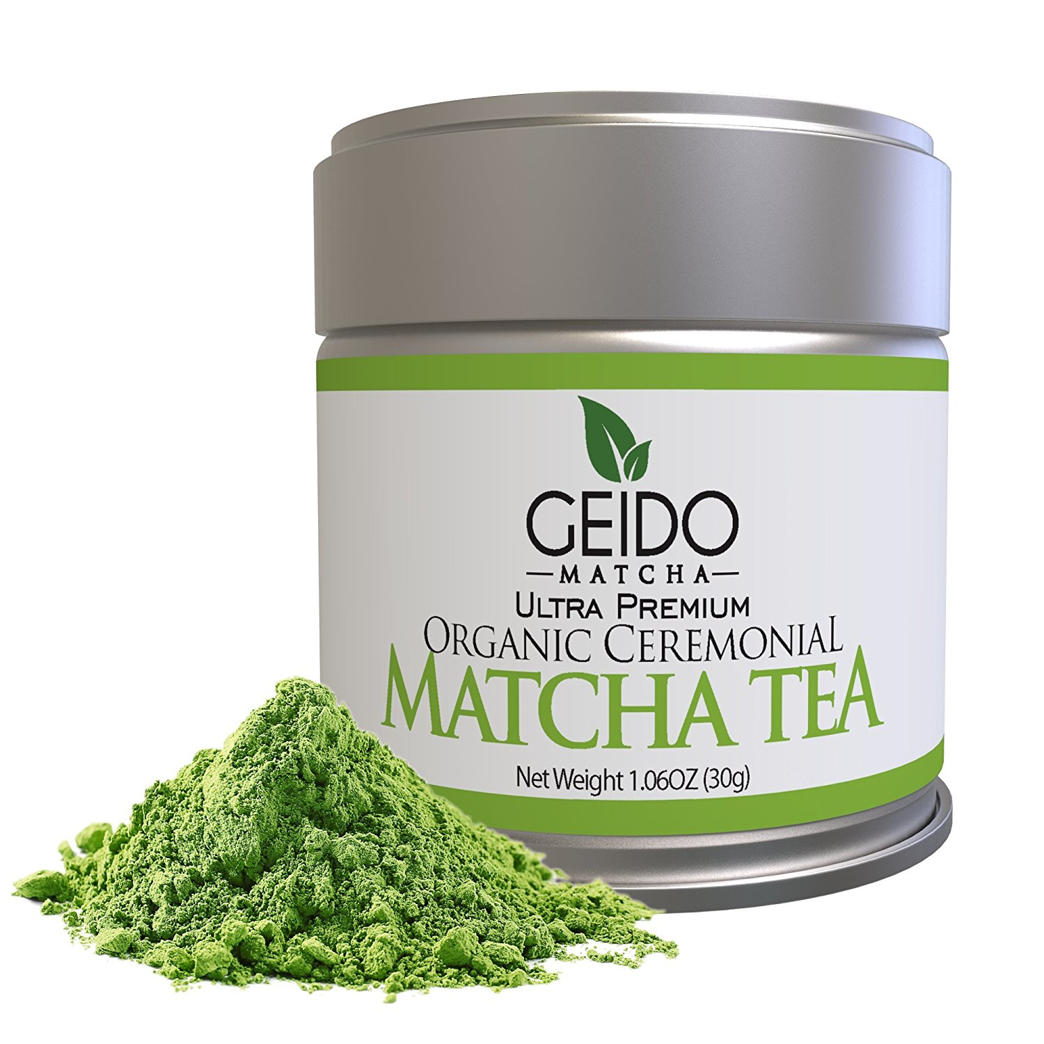 Geido Matcha Green Tea Powder - Premium