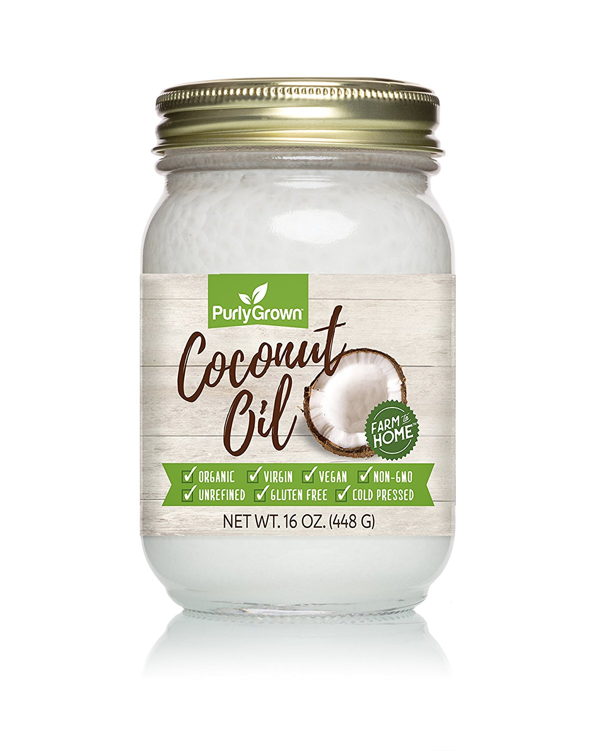 Purly Grown Organic Virgin Coconut Oil
