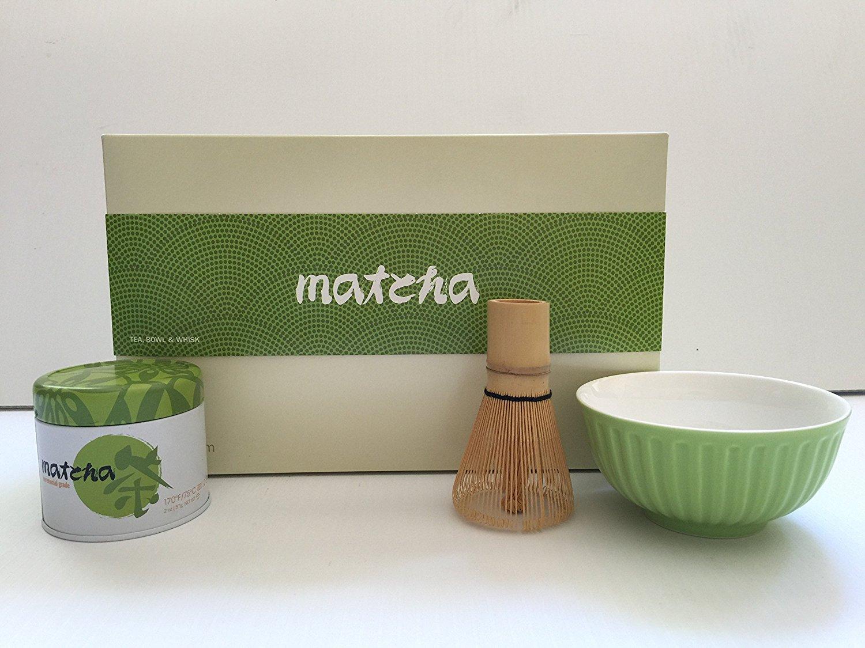 Adagio Teas - Matcha Tea Kit with Tea Bowl and Whisk