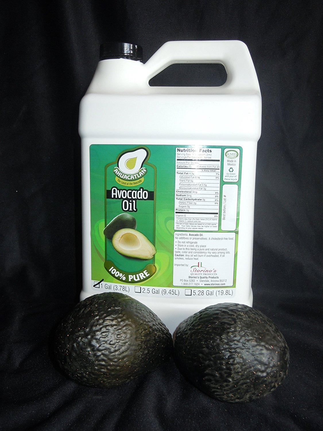 Ahuacatlan Avocado Oil 1 pack-1 Gallon
