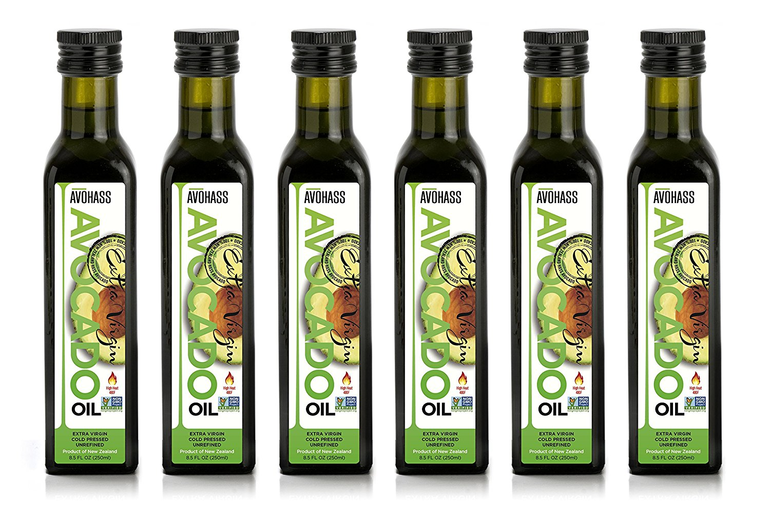 Avohass Extra Virgin Avocado Oil 6 Bottle Case