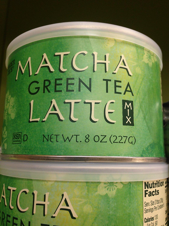 Trader Joe's Matcha Green Tea Latte - Mix (Pack of 6)