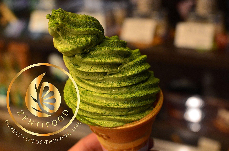 ZENTIFOOD - Matcha Green Tea Powder Certified Organic Green Tea - Ceremonial Matcha First Harvest Single Origin 1.2oz/34g (20%↑). No-GMO