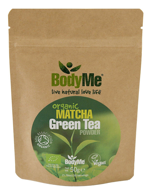 BodyMe Organic Matcha Green Tea Powder | 50g | Soil Association Certified