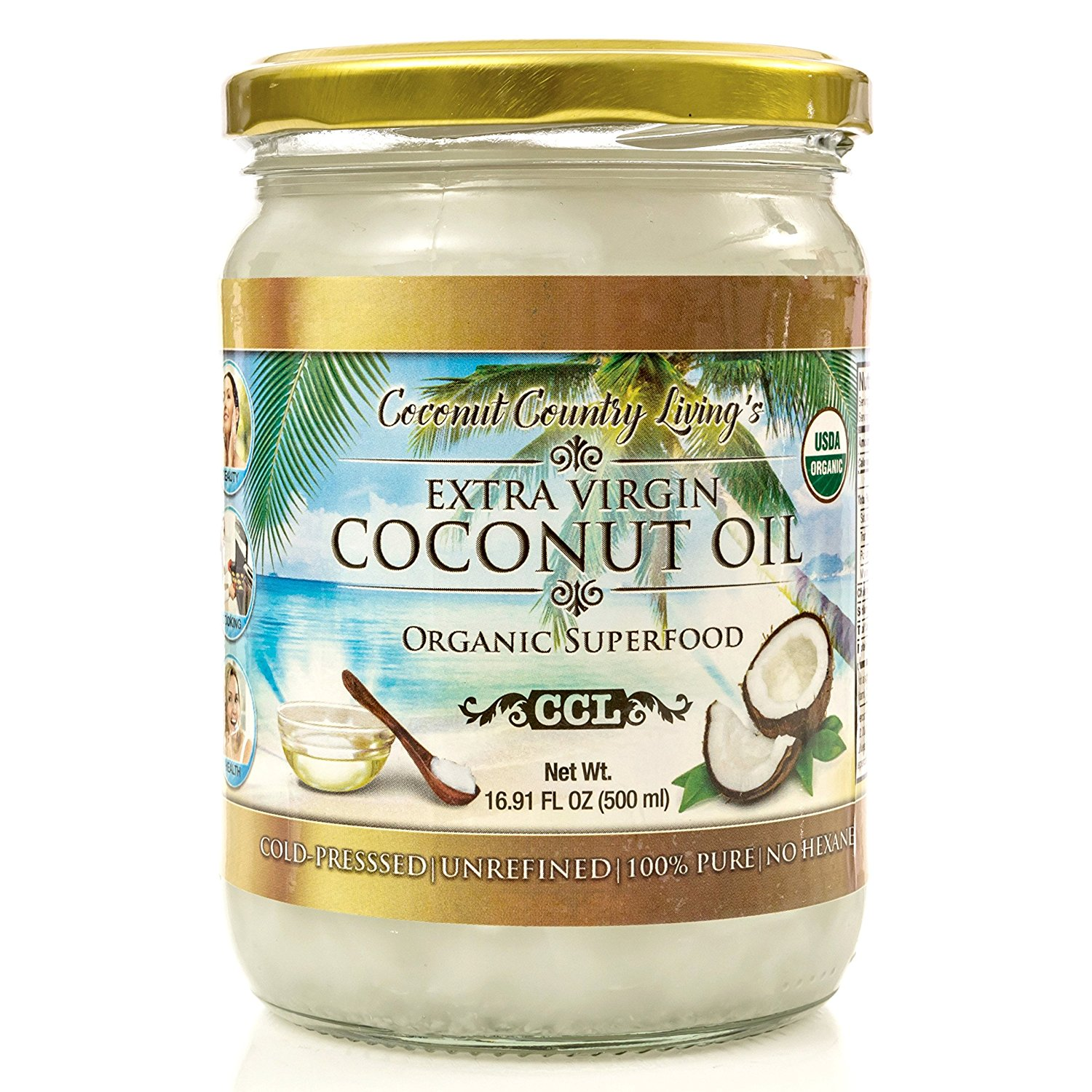 Organic Coconut Oil 16.91 oz